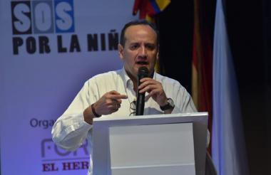 Mario Gómez, fiscal delegado para la Niñez de la Fiscalía General de la Nación.