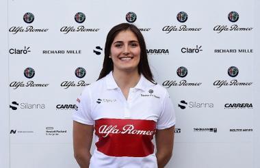 El 6 de marzo de 2018 Tatiana Calderón fue confirmada como piloto de pruebas del Alfa Romeo Sauber Team para la temporada 2018 de la Fórmula Uno.