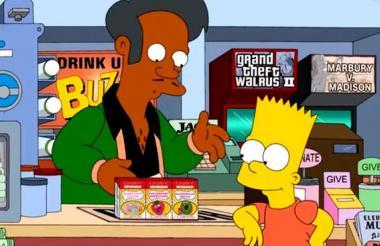 Apu llevaba 30 temporadas en la serie de Matt Groening.