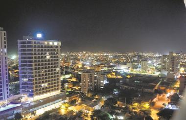 Aspecto general de la ciudad que basa gran parte de su economía en el turismo.