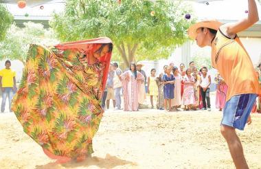 La Yonna es el baile tradicional de la cultura Wayuu.