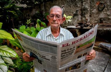 """""""Mi conexión con Barranquilla y el mundo es EL HERALDO porque perdí la audición"""", asegura Luis José Rueda."""