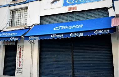 En este sitio ocurrió la tarde del sábado el hecho criminal en el que resultó herido Abomohor Salcedo.