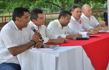 El alcalde Ramírez estuvo en el acto de entrega.