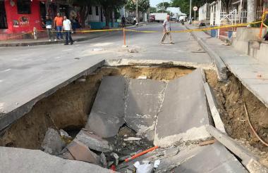 Calle 27B con carrera 15, barrio Las Nives.