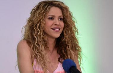 Shakira, artista barranquilera que visitará su ciudad en las próximas horas.