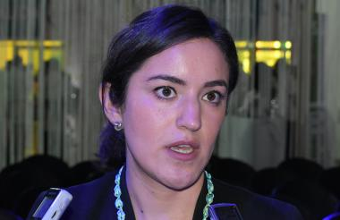 Mónica Ballesteros, vocera del Economist Intelligents Unit.