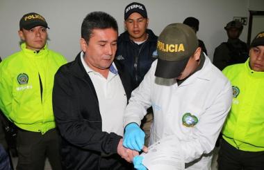 El esmeraldero Pedro Rincón, alias Pedro Orejas.
