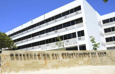 Vista de la sede de la Procuraduría en Valledupar.