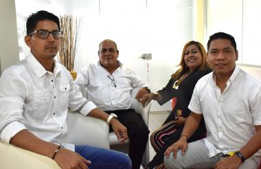 Representantes de la Asociación de Ediles de Barranquilla, Asoedba.