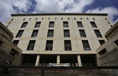 Sede del Palacio de Justicia en Bogotá.