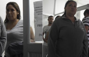 Carolina Murcia Reyes e Ingrid María Maldonado Pérez, procesadas.