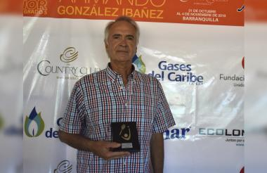 Carlos Behar, campeón del ITF 'Senior' Grado 5.