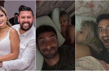 Cristina Britt y su esposo, el empresario Edson Brittes, confeso asesino del jugador Daniel Correa Freitas.
