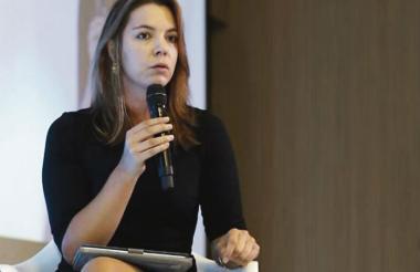 Catalina Sánchez, de la Asociación de Emprendedores de Colombia, invitada a la Semana Global del Emprendimiento en Barranquilla.