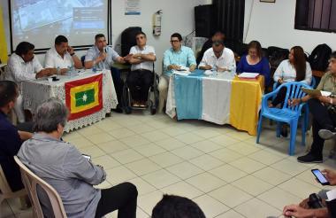 Sesión descentralizada del Concejo de Barranquilla.