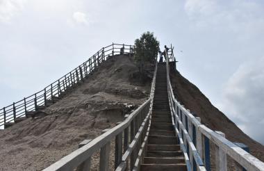El Volcán del Totumo es una de las zonas en disputa entre los departamentos.