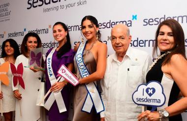 Raimundo Angulo y Laura González, actual Señorita Colombia, acompañaron el evento.