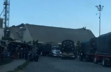 La empresa donde ocurrió el accidente está ubicada en Riverport.