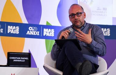 El comisionado de la Creg, Cristian Jaramillo.