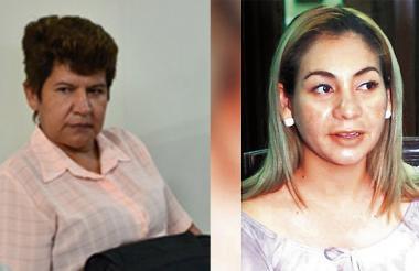 Martha Díaz y Dignoris Pérez.