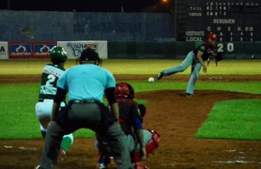 Imagen del juego entre los Toros de Sincelejo y los Tigres de Cartagena.