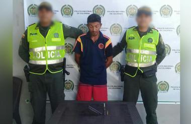 Jorge Fabián Acevedo Barrios, capturado.