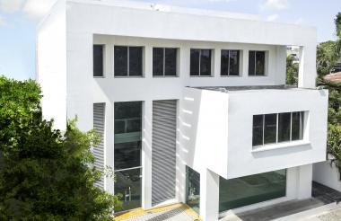 Edificio de la nueva sede del nodo Ceipa en Barranquilla.