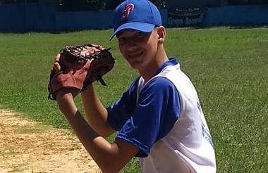 Francisco Mendoza, pitcher de los Potros en el juego.