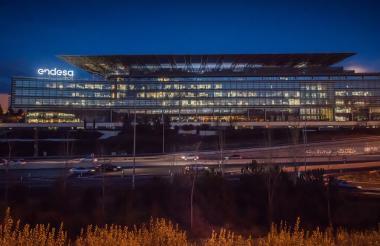 Sede de Endesa en Madrid, España. Enel es máxima accionista de esta empresa.
