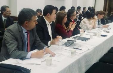 Reunión de coordinadores y ponentes del proyecto.