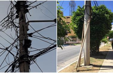 Los reportes sobre el deterioro de postes se pueden hacer a través de Minienergiapp.