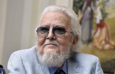El escritor mexicano Fernando Del Paso.