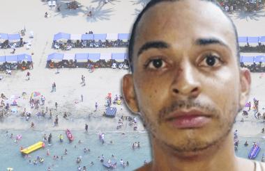 Sergio Pérez Ladeus, había sido capturado en El Rodadero, en Santa Marta.