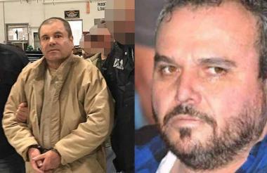Joaquín el Chapo Guzmán y Jesús Rey Zambada.
