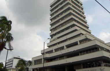 Palacio de Justicia de Montería donde se llevan a cabo las audiencias.