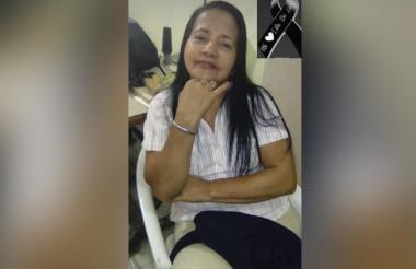 Margarita María Ospino de la Madrid, de 61 años.