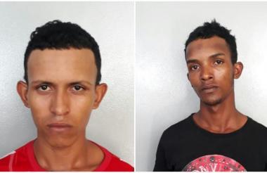 Ricardo Vizcaíno M. y Darwin Antonio Cantillo M, capturados.