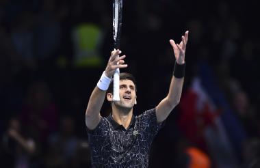 Novak Djokovic, número uno del ránking de la ATP.
