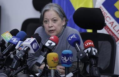 Vicefiscal general, María Paulina Riveros.