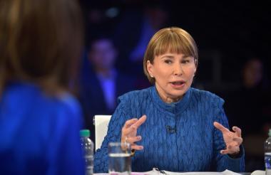 Cecilia Arango, ministra de Trabajo.