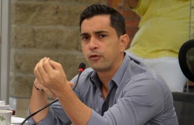 Jorge Mario Hernández, diputado de Sucre.