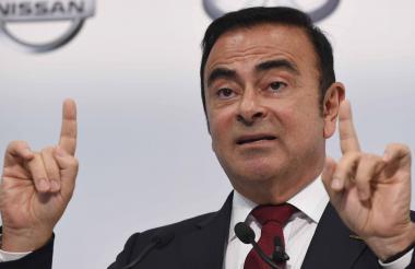 Ghosn, presidente de Nissan, Renault y Mitsubishi.