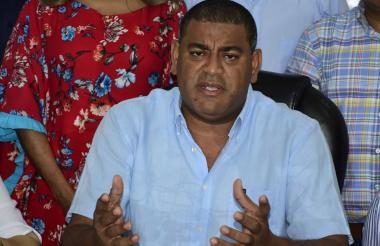 Wilson Rojas, secretario de Gobierno.