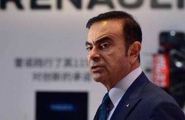 Carlos Ghosn, empresario arrestado en Japón.