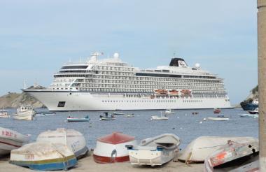 Crucero en Santa Marta.