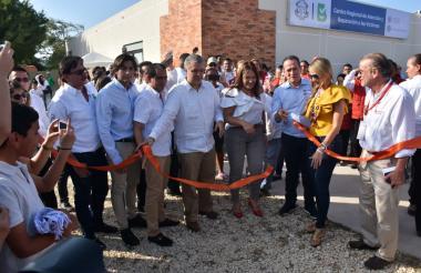 Inauguración del Centro Regional de Atención a Víctimas de Barranquilla.