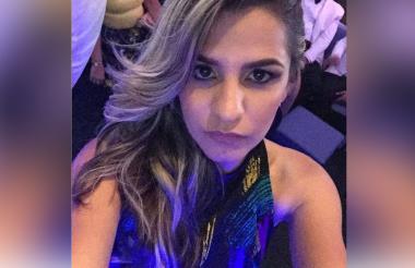Andrea Carolina Romero Gutiérrez, presunta estafadora.