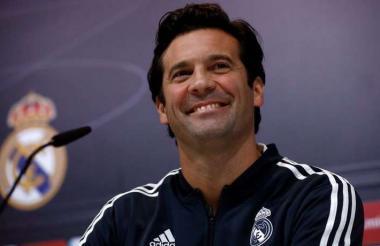 Santiago Solari, técnico del Real Madrid.