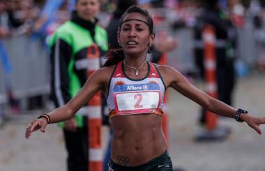 Kellys Arias, atleta integrante del Equipo Porvenir.